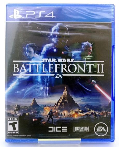Star Wars Battlefront 2 Ps4 Mídia Física Português Br Lacrad