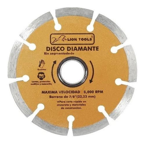 Imagen 1 de 1 de Disco Diamante 7 Pulgadas Rin Segmentado