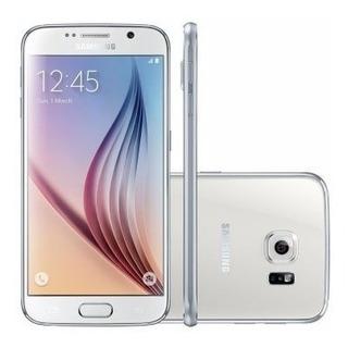 Celular Smartphone Samsung Galaxy S6 G920i Branco - 4g, Tela