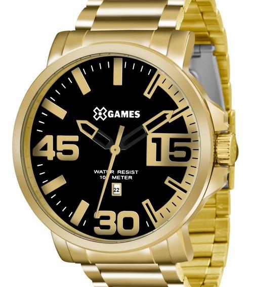 Relógio X-games Masculino Dourado - Xmgs1018 P2kx