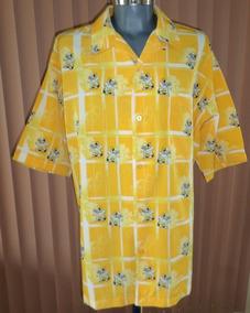 Camisa Amarilla Street Wear /street Culture Talla 2xl