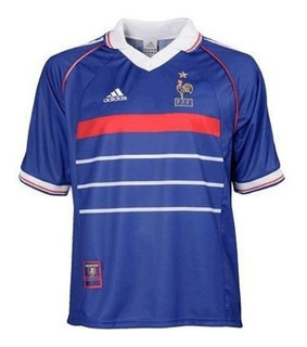 Camisa França 1998 Oficial Copa Do Mundo 98 Campeã Do Mundo