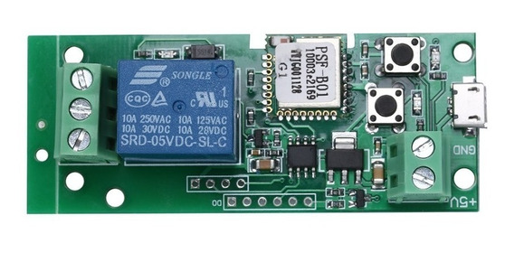 Relé Wi-fi Usb5v - Pulso Local & App Ewelink