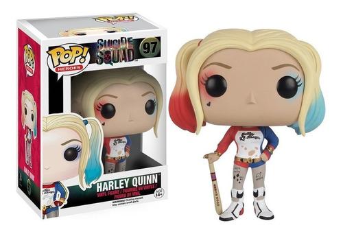 Funko Pop Harley Quinn 97 Suicide Squad - Minijuegos