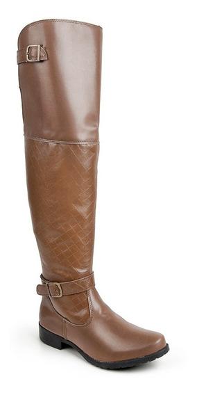 Bota Over The Knee Luma Ventura Linha Standard 003 Tan