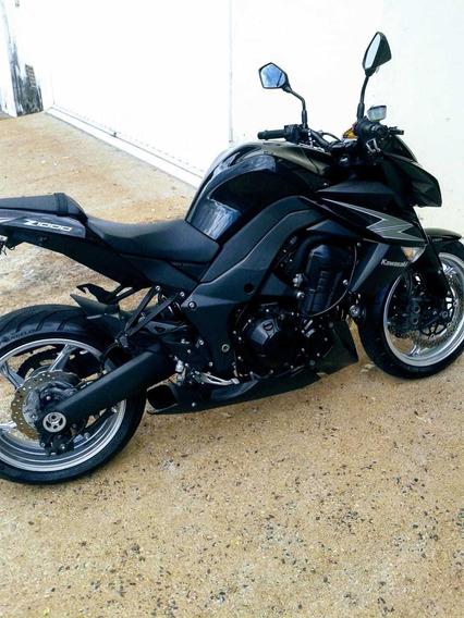 Kawasaki Z1000 Preta