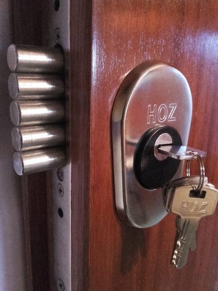 Puerta Blindada Instalada! Hoz Premium® 27 Anclajes!