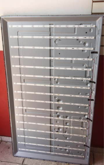 Kit Barras Led Tv Sony Kdl-60w605b A2032061a Completo