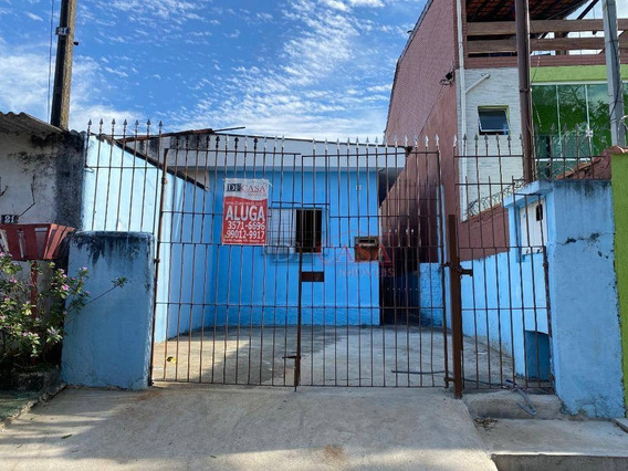 Casa Com 2 Dormitórios Para Alugar, 75 M² Por R$ 1.100,00/mês - Itaquera - São Paulo/sp - Ca0488