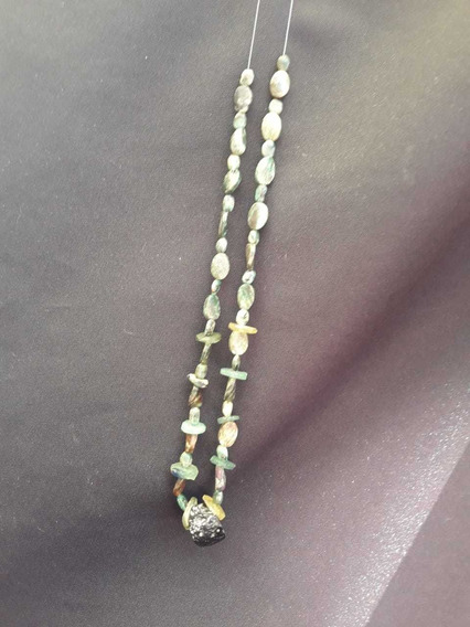 Collar Con Cristales De Impacto Meteorito Egipcios