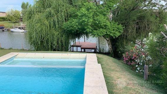 Oportunidad !!!excelente Casa Al Rio En San Marco Con Muelle - Villanueva