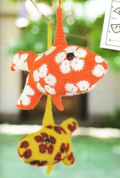6 Patrones Amigurumis Crochet Con Flor Africana