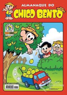 Hq Gibi - Almanaque Do Chico Bento - Turma Da Mônica N° 62