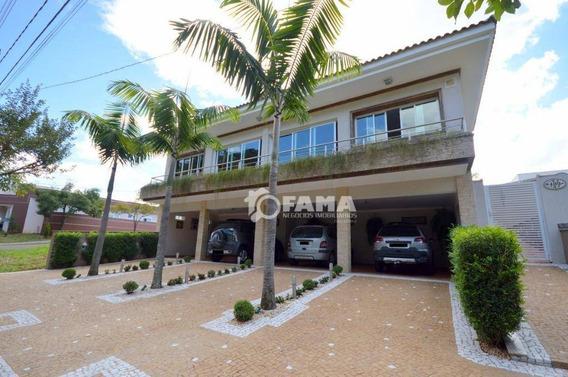 Casa Com 3 Dormitórios À Venda, 320 M² - Condomínio Alto Da Boa Vista - Paulínia/sp - Ca0752