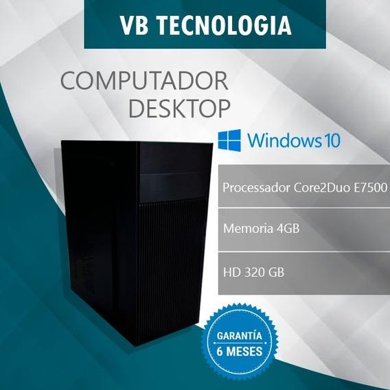 Computador Desktop Core2duo