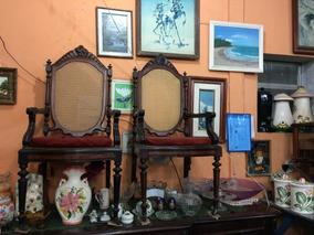 Cadeiras Antigas Vitorianas Jacarandá Preço Do Par