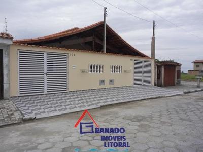 Casa Na Praia De Mongaguá, Financie Caixa E Use O Fgts