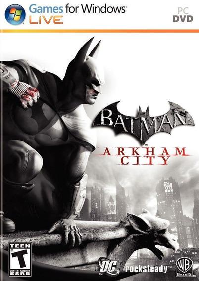 Batman Arkham City Goty Pc Original Promoção Frete Gratis!