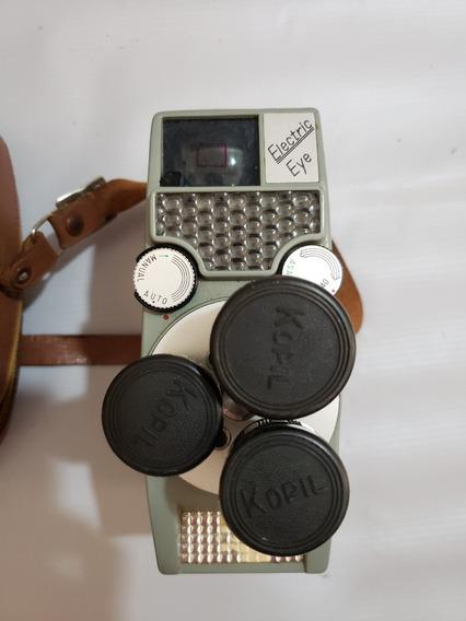 Filmadora Kopil Ia Electric Eye 8 - 3 Lent- Produto Vintage