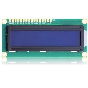 Display Lcd 16x2 1602 Backlight Azul Escrita Branca Arduino