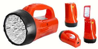 Lanterna Led Albatroz Holofote Com Luminária Recarregável