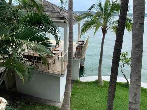 Tequesquitengo Casa En Venta Para Hotel *a Orilla Del Lago*