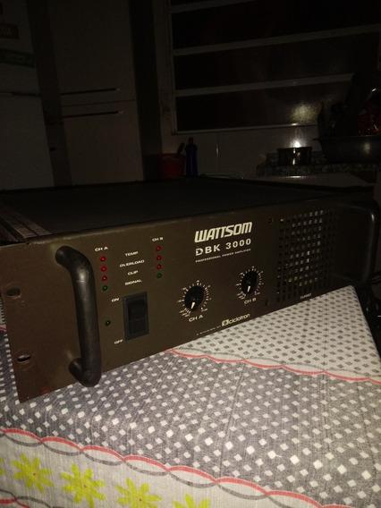 Amplificador De Potencia Dbk 3000 Revisada Ok 4 Homs