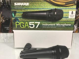Microfono Shure Pga 57 Xlr Nortvision Tucuman