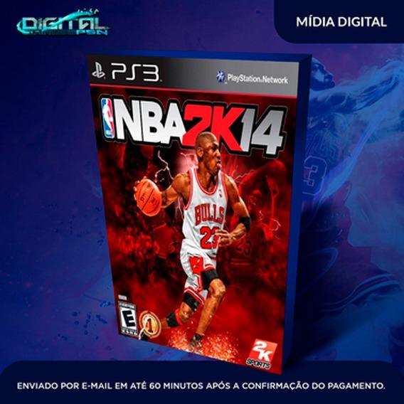 Nba 2k14 Ps3 Psn Game Digital Envio Hoje.