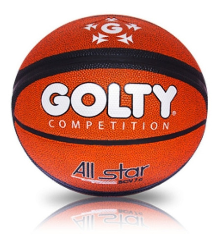 Balon Basquet Profesional Golty All Star Nro7 + Envio Gratis