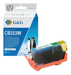 Cartucho G&g Para 564 Xl B210a 209 6380 5460 Cian