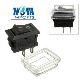 5x Mini Chave Tic Tac Quadrada 2 Polos Proteção Para Água