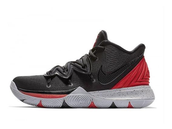 Tênis Nike Kyrie Irving 5 Bred Black Red Imediato