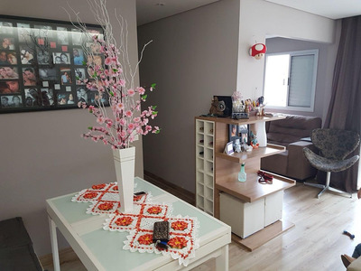 Apartamento Com 3 Dormitórios À Venda, 68 M² Por R$ 318.000 - Jardim Tupanci - Barueri/sp - Ap0188