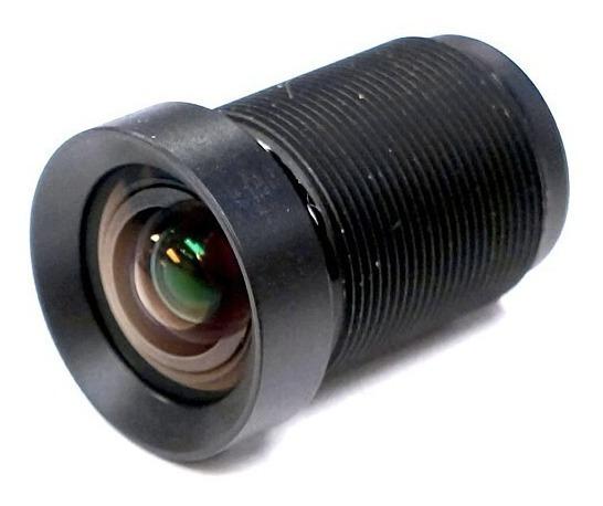 Lente Zoom 72 Graus M12 Drones Action Cam Sem Distorção