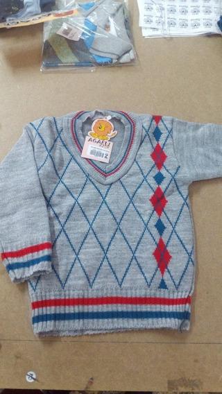 Blusa Suéter Menino Lã