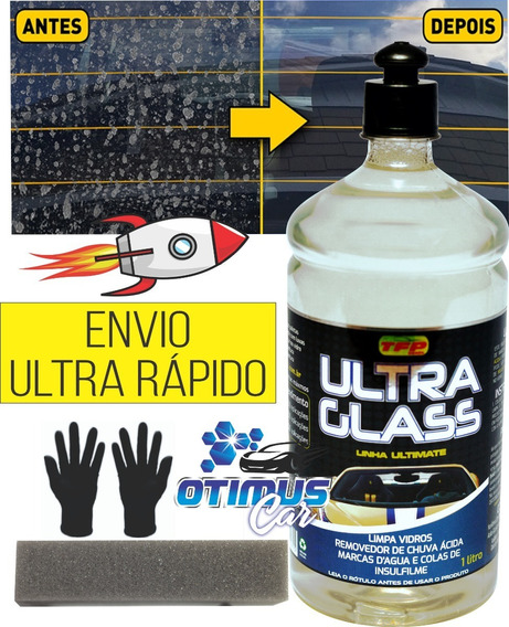 Removedor De Chuva Ácida Nobre Cristal Ultra Glass Tfp 1l