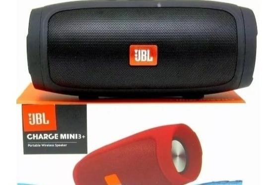 Caixa De Som Charge 3 Mini Bluetooth Rádio Fm Sdcard Potente