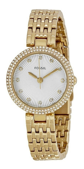 Relógio Fossil Olive Gold Es3346 Steel Bracelet Ladies Watch