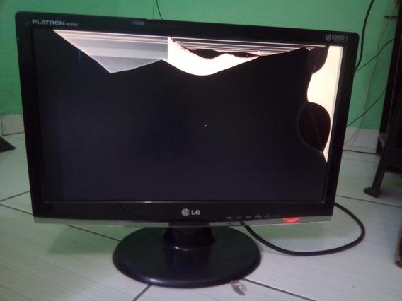 Monitor LG 18 Com Defeito Na Tela