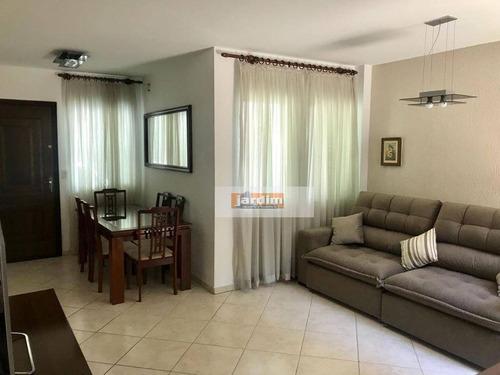 Imagem 1 de 8 de Sobrado Com 3 Dormitórios À Venda, 122 M² Por R$ 580.000,00 - Vila Baeta Neves - São Bernardo Do Campo/sp - So2426