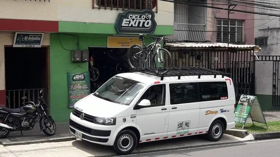 Turismo En Microbus Con Bicicletas