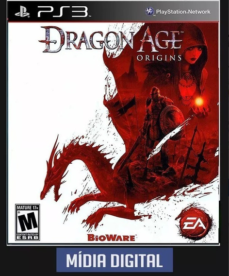 Dragon Age Origins Ps3 Midia Digital Envio Imediato
