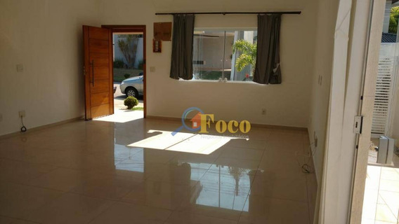 Casa Com 3 Dormitórios À Venda, 186 M² Por R$ 650.000 - Condomínio Itatiba Country Club - Itatiba/sp - Ca0831