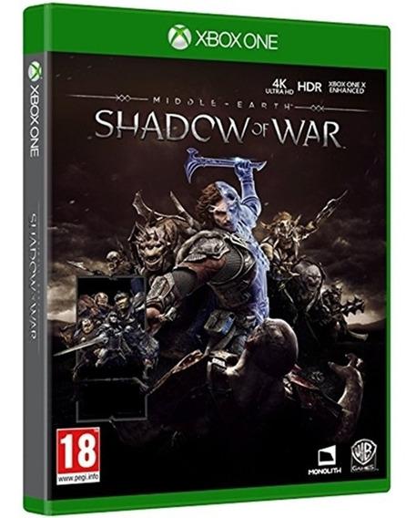 Sombras Da Guerra Xbox One Midia Física Dublado Br Barato