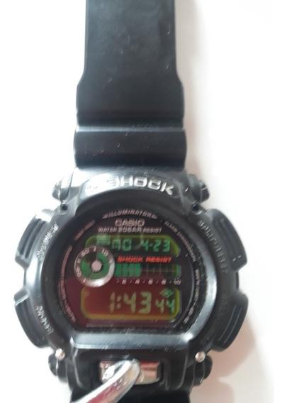 Relógio De Pulso G-shock Casio Dw-9000 Preto Masculino 20bar