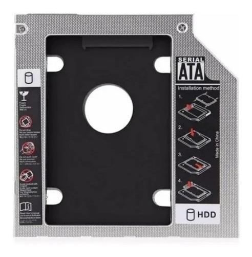 Imagen 1 de 3 de Caddy Adaptador 12.7mm Notebook Sata Hdd Ssd