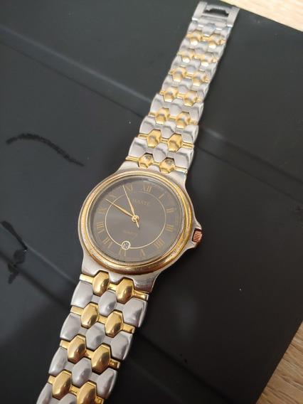 Reloj Haste Color Oro Y Plata