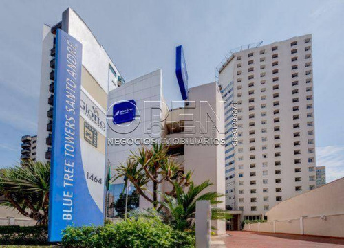 Flat Com 1 Dormitório Para Alugar, 43 M² Por R$ 1.320,00/mês - Centro - Santo André/sp - Fl0031