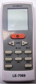 Controle Remoto Ar Condicionado York Split Gz-12a-e1
